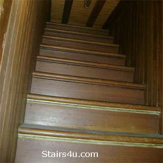 Winchester House Stairway To Ceiling