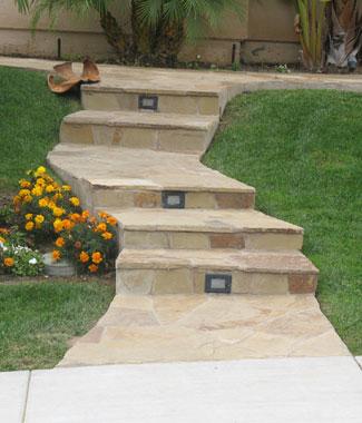 Flagstone Stairs