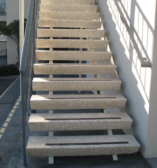 Wedge Shaped Stair Treads