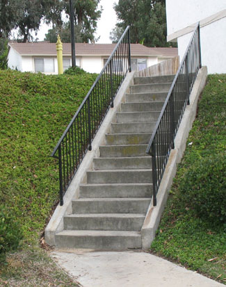 Apartment Concrete Stairs