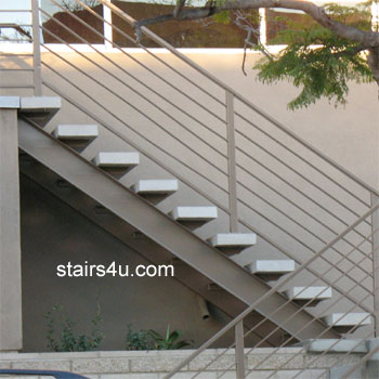 Exceptional Exterior Stairways   3 Stories Or More