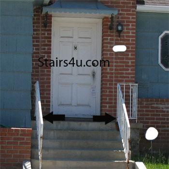 Stair Landing Width And Doors