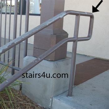 Upper Handrail Extension
