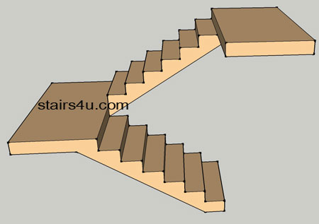 Open U Stairs