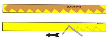 Now That You Have The Hang Of It, Continue Lining Up The Framing Square As  Shown In The Steps Previously And Continue Marking The Treads And Risers,  ...