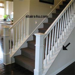 Closed stairway design and construction for Enclosed staircase design