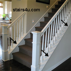 Knee Wall - Stair Building And Design