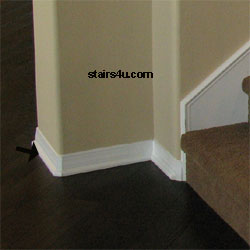Shoe Rail Wood Stairway Trim
