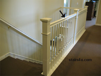 Level Rails Can Also Be Located At Stair Landings When A Continuous Handrail Is Required The Rail Doesn T Refer To Entire System