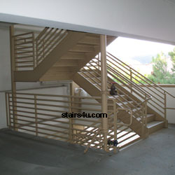 Scissor Stairs Design And Building