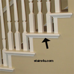 Delightful This Is Probably One Of The Most Popular Pieces Of Stair Trim Used By  Finish Carpenters.