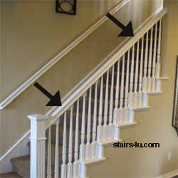 Banister - Stairway Handrail Parts