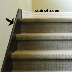 Toe Board Stair Woodwork Wall Protection