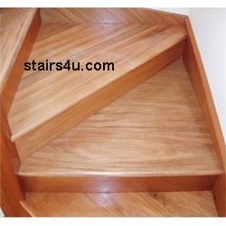Winder stairs stairway design for Building winder stairs