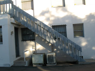 Outdoor Handrails for Concrete Steps