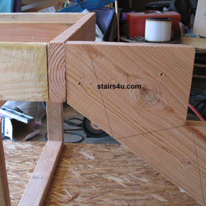 Installing Stair Stringers Building Stairs Instructions