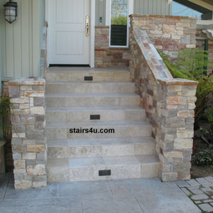 Most Of The Time These Stairs Are Built Correctly, But Every Once In A  While I Come Across A Set Of Porch Stairs That Has Top Or Bottom Riser  Problems.