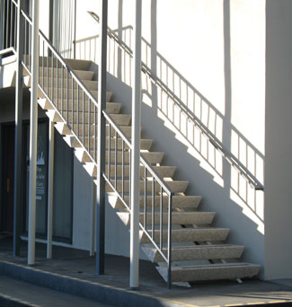 Staircase With Triangle Shaped T