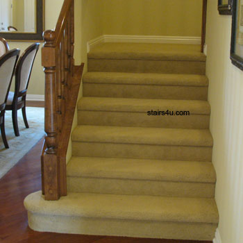 How Many Stair Treads Or Steps Does The Average Stairway Have For Two Story  House?