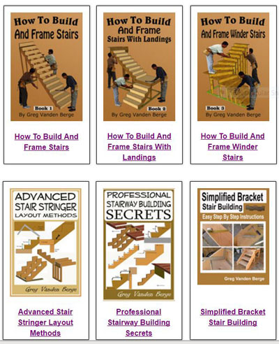 stair building books