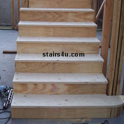 Attirant Plywood Stair Tread Recommended Thickness